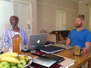 Moerane Critical Edition Workshop 13 January Johannesburg [2] - Mokale Koapeng & Zayne Upton