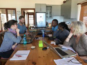 Moerane research team workshop in Cape Town, Feb 2017